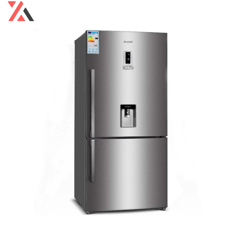 یخچال فریزر کمبی آرچلیک مدل 6351PD ، سیلور، فروشگاه اینترنتی آف تپ