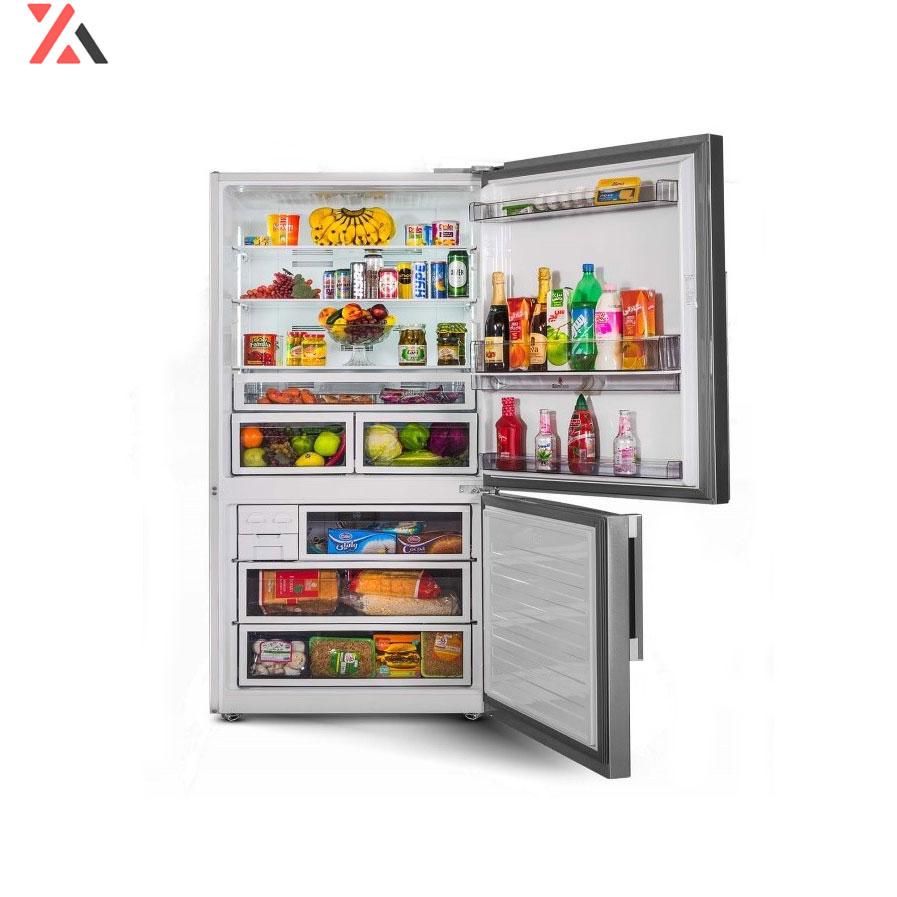 یخچال فریز کمبی آرچلیک مدل 6351PD ، درب باز، فروشگاه اینترنتی آف تپ