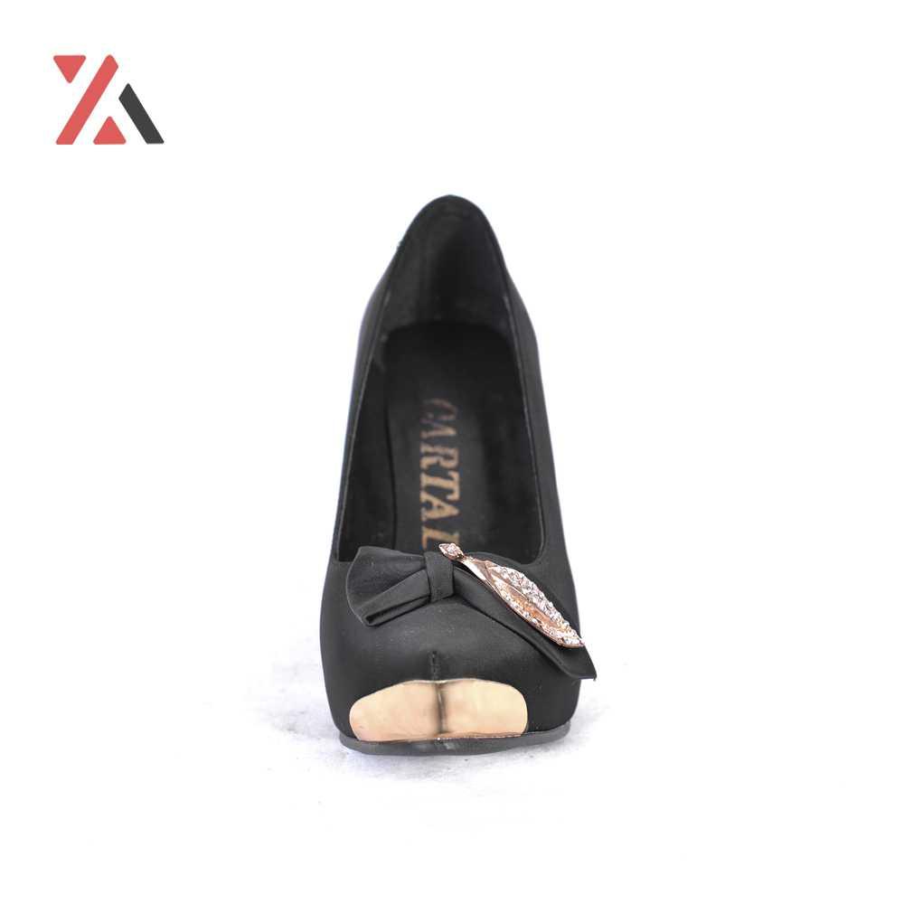 کفش مجلسی زنانه طرح برگ کد 3093، خرید آنلاین، فروشگاه اینترنتی آف تپ