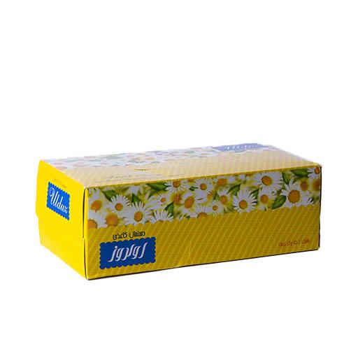 دستمال کاغذی 150 برگ دولایه اولدوز طرح ثمین،خرید آنلاین،فروشگاه اینترنتی آف تپ