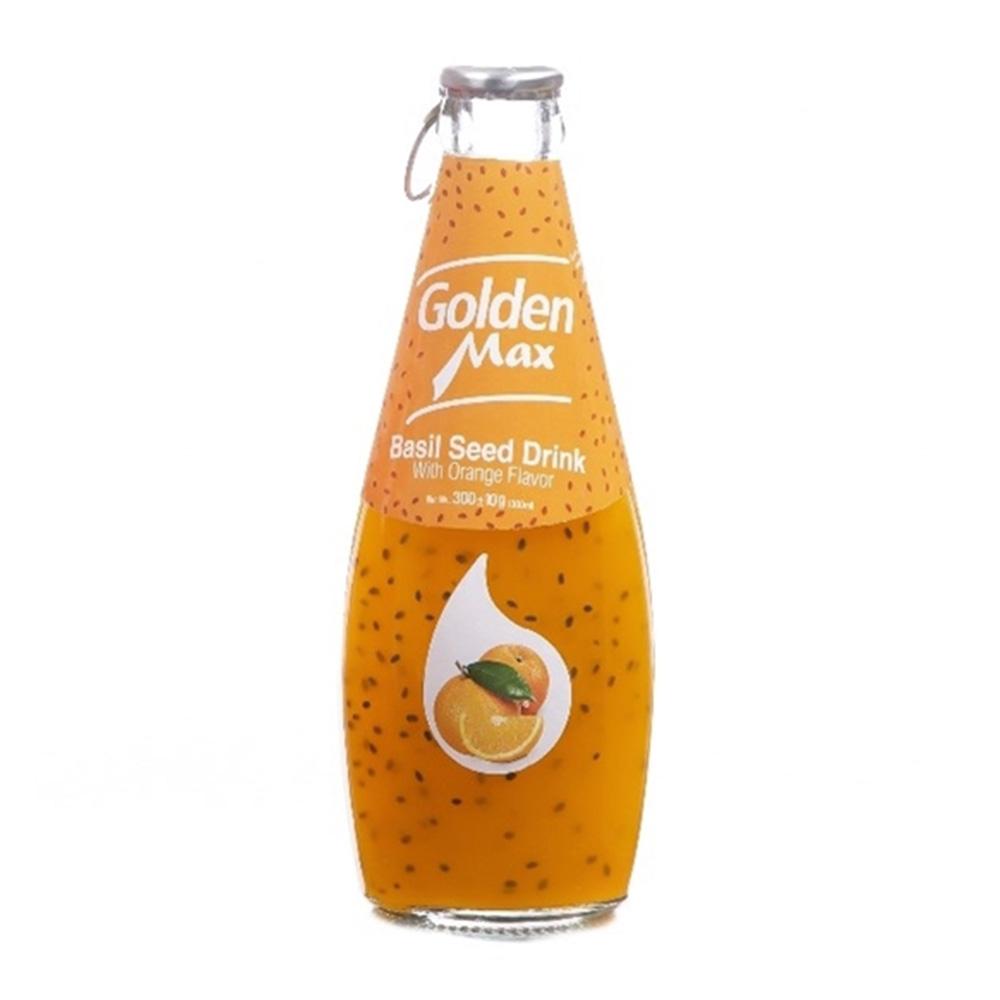 نوشیدنی تخم شربتی پرتقال 300 میل گلدن مکس، آف تپ