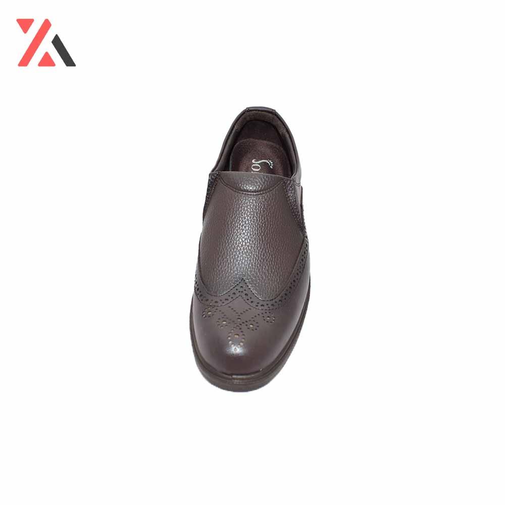 کفش مردانه دوتیکه طرح هشترک- بغل کشی -کد 197، خریدآنلاین، فروشگاه اینترنتی آف تپ