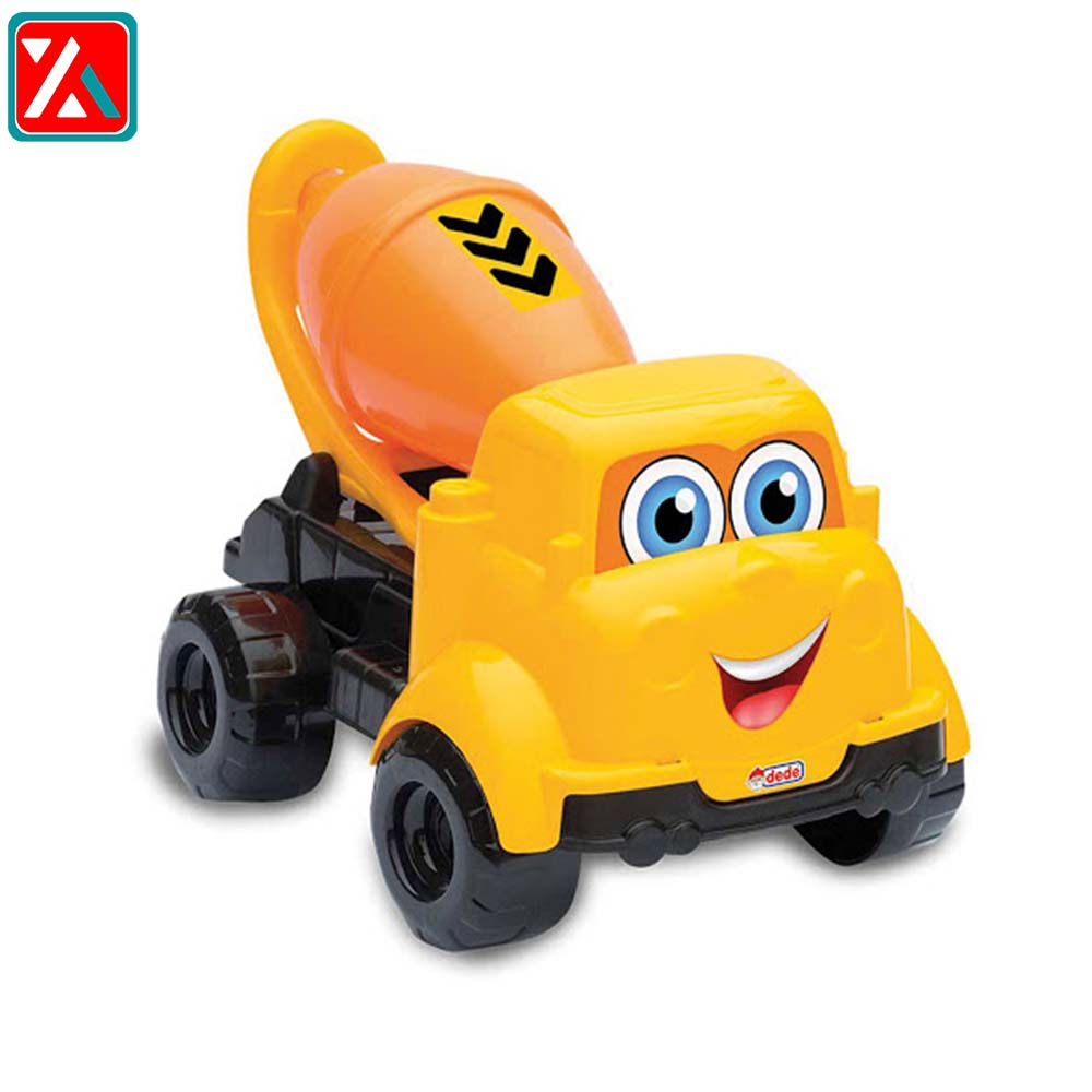 ماشین بازی دد طرح کامیون میکسر سیمان کد03433 مدل My First Cement Truck 01260 ،فروشگاه اینترنتی آف تپ