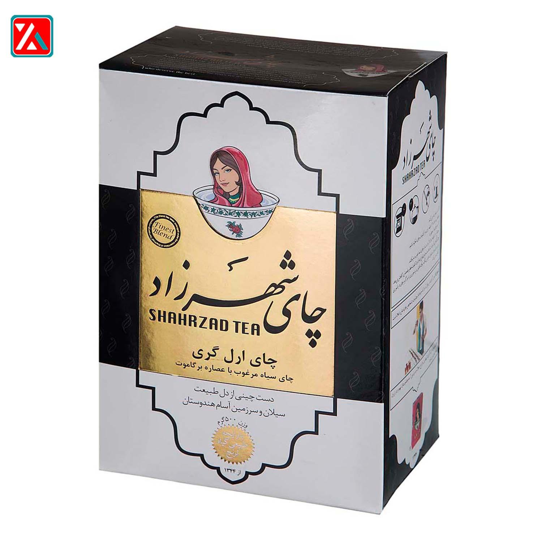 چای سیاه ارل گری  شهرزاد 500 گرم،فروشگا اینترنتی آف تپ