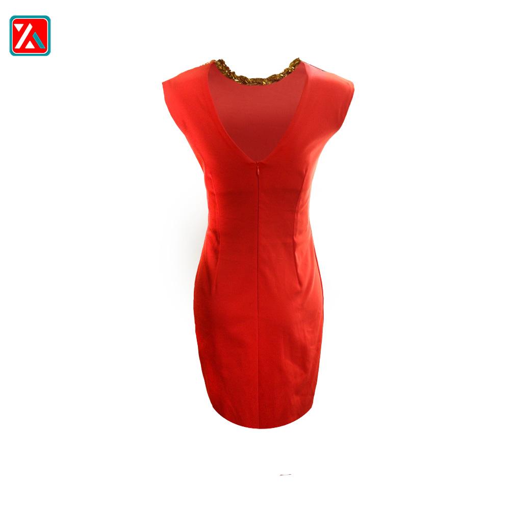 پیراهن مجلسی زنانه چاک دار کد A204