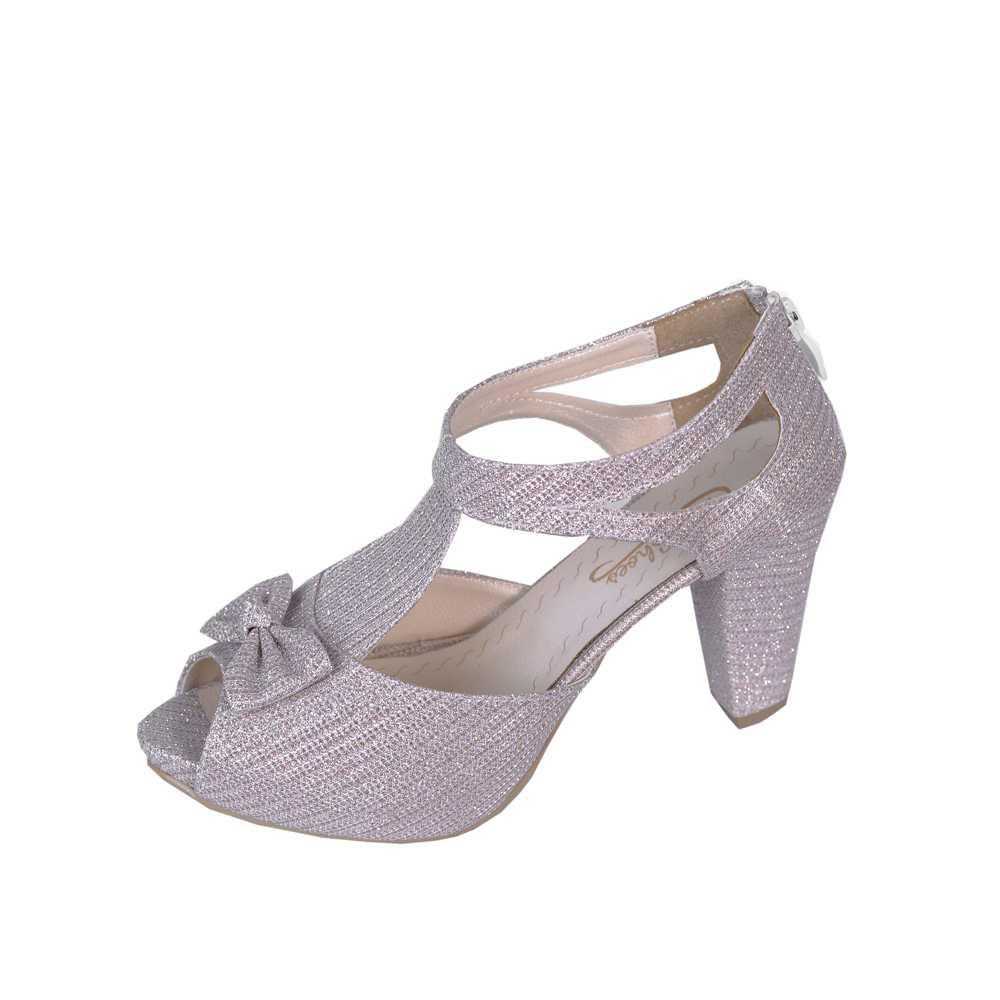 کفش مجلسی زنانه طرح پاپیون کد 3104، خریدآنلاین، فروشگاه اینترنتی آف تپ