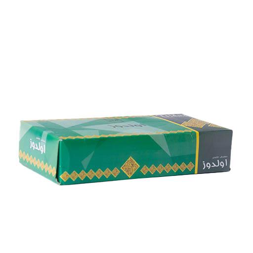 دستمال کاغذی 100 برگ دو لایه اولدوز طرح سبز،خرید آنلاین،فروشگاه اینترنتی آف تپ