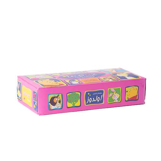 دستمال کاغذی 100 برگ دو لایه اولدوز طرح اتاق بچه،خرید آنلاین،فروشگاه اینترنتی آف تپ