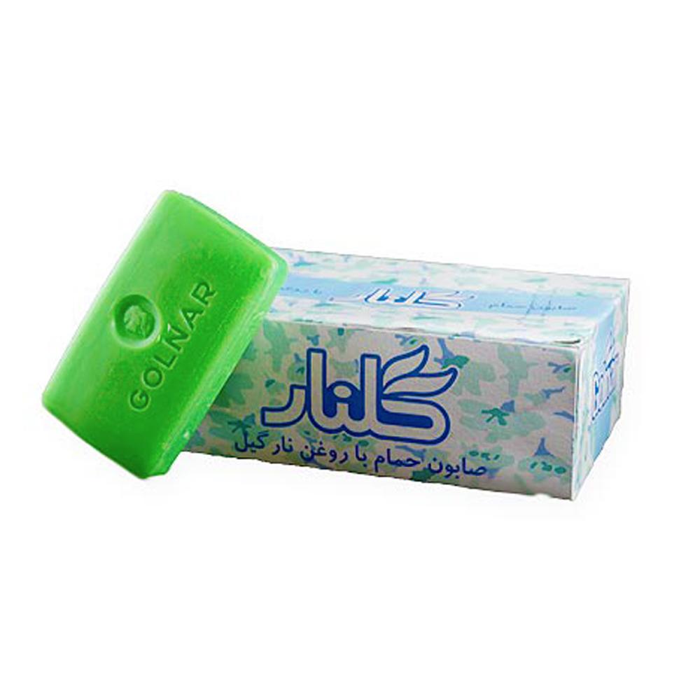 صابون حمام گلنار با روغن نارگیل -بسته 6 عددی، خرید اینترنتی، فروشگاه آنلاین آف تپ
