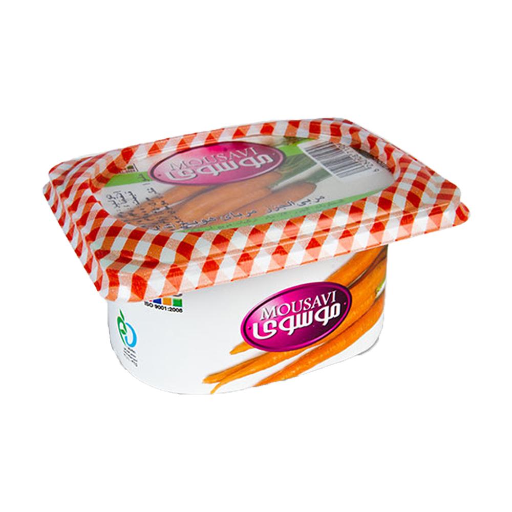 مربای هویج موسوی مقدار 225 گرم، فروشگاه اینترنتی آف تپ