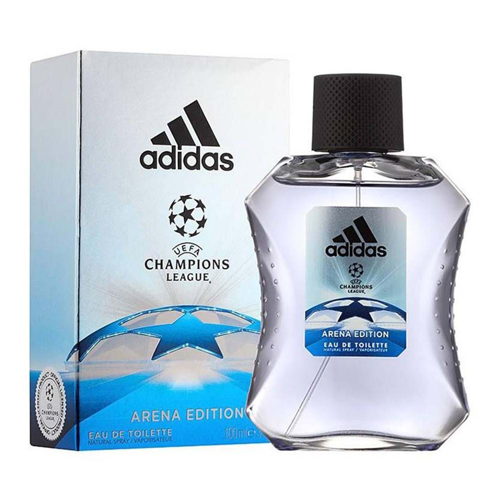 ادوتویلت مردانه آدیداس مدل UEFA Champions League Arena Edition حجم 100 میلیلیتر، فروشگاه اینترنتی آف تپ