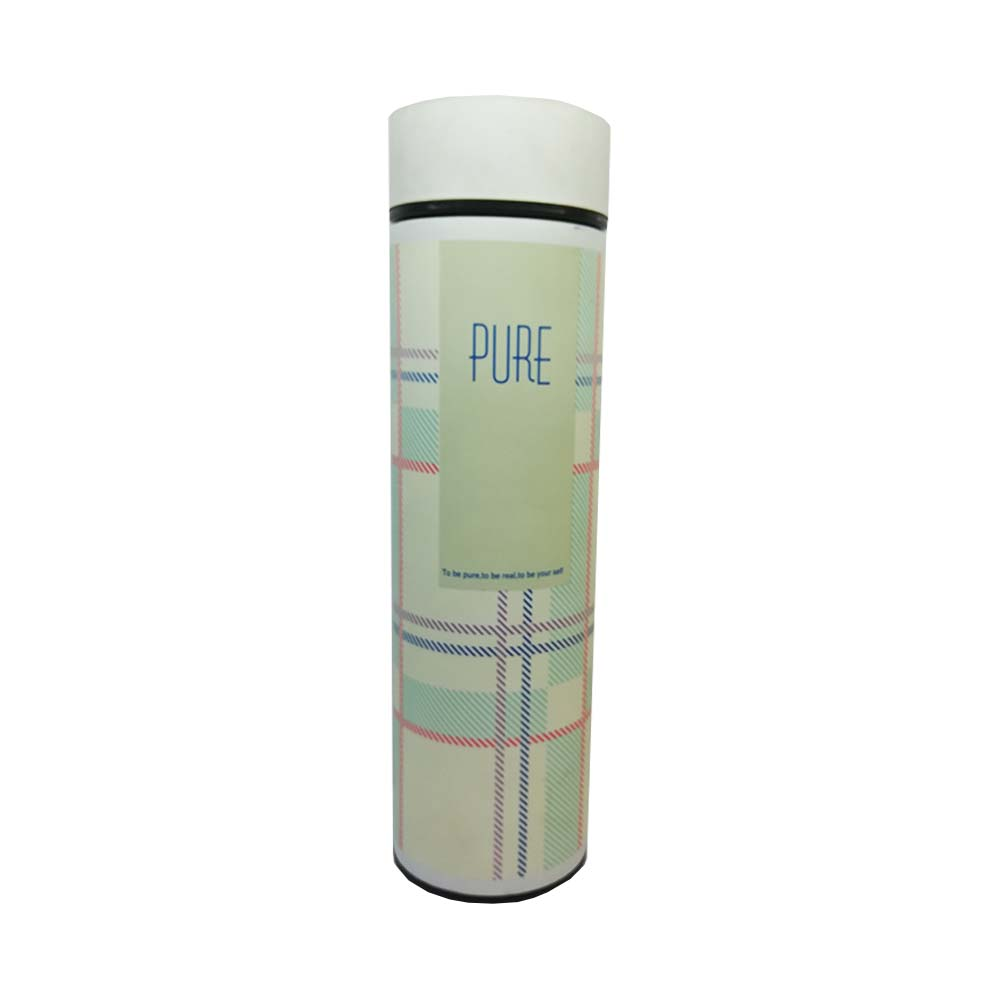 فلاسک فلزی مدل طرح PURE با ابعاد 25 سانتی متر کد03، فروشگاه اینترنتی آف تپ
