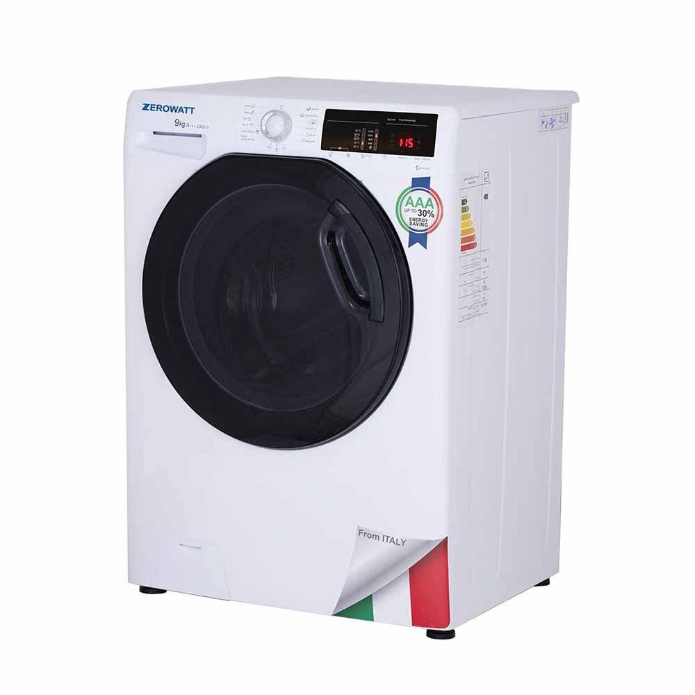ماشین لباسشویی زیرووات مدل OZ-1394 ظرفیت 9 کیلوگرم، فروشگاه اینترنتی آف تپ