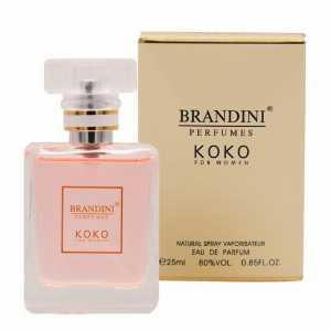 ادو پرفیوم جیبی زنانه برندینی Brandini مدل Koko حجم 25 میلیلیتر،خرید آنلاین،فروشگاه اینترنتی آف تپ