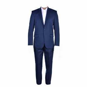 کت و شلوار ساده کلاسیک فاستونی سرمه ای، خرید آنلاین، فروشگاه اینترنتی آف تپ