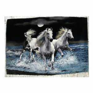 تابلو فرش طرح گله اسب،خرید آنلاین،فروشگاه اینترنتی آف تپ