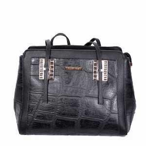کیف زنانه دسته بلند مشکی کد5019، خرید آنلاین، فروشگاه اینترنتی آف تپ