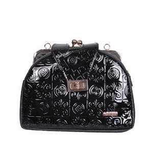 کیف دستی زنانه ورنی طرح دارکد5038، خریدآنلاین، فروشگاه اینترنتی آف تپ