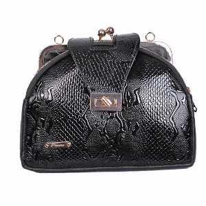 کیف دوشی ورنی پوست ماری کد 5034، خرید آنلاین، فروشگاه اینترنتی آف تپ