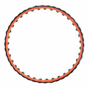 حلقه تناسب اندام اورانوس تن زیب،خرید آنلاین،فروشگاه اینترنتی آف تپ