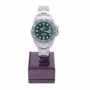 ساعت مچی عقربه دار بند استیل رولکس صفحه سبز مدل 72200، فروشگاه اینترنتی آف تپ