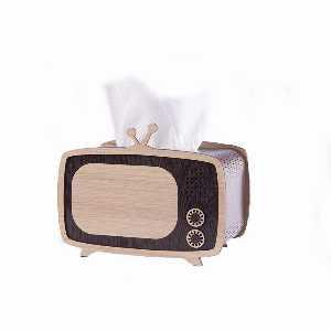 جا دستمال کاغذی طرح تلویزیون ساده،خریدآنلاین،فروشگاه اینترنتی آف تپ