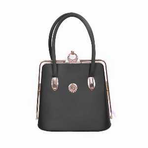 کیف زنانه مجلسی مدل چمدانی قفلی، خریدآنلاین، فروشگاه اینترنتی آف تپ