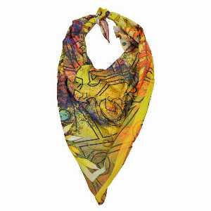 روسری دست دوز نخی برند Ramila طرح جردن،خرید آنلاین،فروشگاه اینترنتی آف تپ