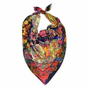 روسری زنانه برند Ramila طرح آبرنگی،خرید آنلاین،فروشگاه اینترنتی آف تپ