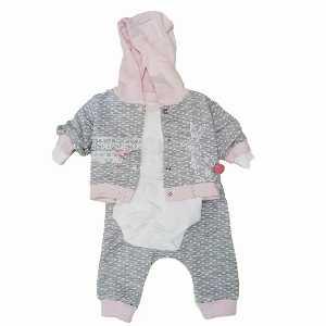 ست سه تیکه نوزادی دخترانه 010 ، فروشگاه اینترنتی آف تپ