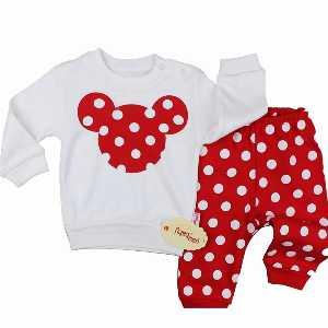 ست تیشرت شلوار نوزادی دخترانه کد 014 ، فروشگاه اینترنتی آف تپ
