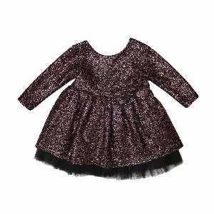 لباس مجلسی دخترانه طرح توری، خریدآنلاین، فروشگاه اینترنتی آف تپ