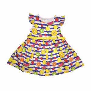 پیراهن دخترانه طرح میوه ای، خریدآنلاین، فروشگاه اینترنتی آف تپ
