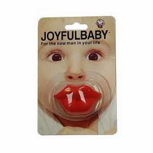 پستانک ارتودنسی طرح لب joyfull baby ، فروشگاه اینترنتی آف تپ