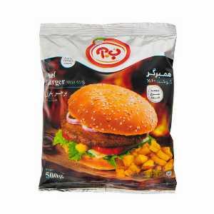 همبرگر 60% گوشت ب.آ مقدار 500 گرم،فروشگاه اینترنتی آف تپ