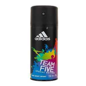 اسپری مردانه آدیداس مدل Team Five حجم 150 میلی لیتر، فروشگاه اینترنتی آف تپ