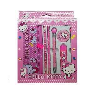 ست لوازم التحریر HELLO KITTY کد01، فروشگاه اینترنتی آف تپ
