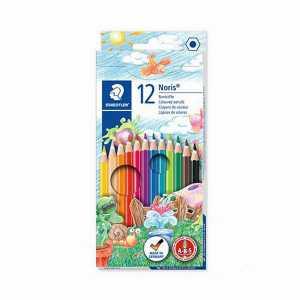 مداد رنگی ۱۲ تایی استدلر جعبه مقوایی، فروشگاه اینترنتی آف تپ