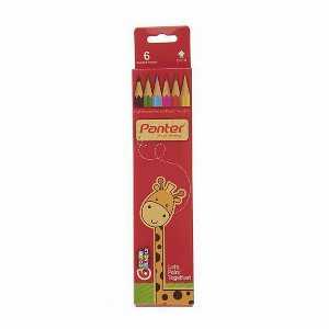 مداد رنگی 6 رنگ پنتر، فروشگاه اینترنتی آف تپ