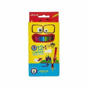 مداد رنگی 12 رنگ آریا مدل 3016، فروشگاه اینترنتی آف تپ