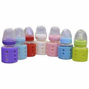 شیشه شیر پیرکس محافظ دار آنلی بی بی کد 8208، فروشگاه اینترنتی آف تپ