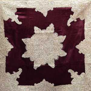 رومیزی مربع دابکا کد 4910، فروشگاه اینترنتی آف تپ