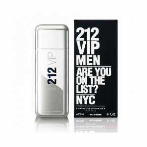"""ادو تویلت مردانه کارولینا هررا مدل 212 VIP حجم 100 میلی لیتر""""،فروشگاه اینترنتی آف تپ"""