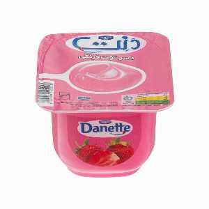 دسر توت فرنگی دنت 100 گرم، فروشگاه اینترنتی آف تپ