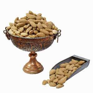 بادام سنگی خام مغز درشت وزن 1 کیلوگرم، فروشگاه اینترنتی آف تپ