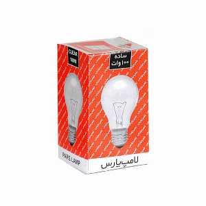 لامپ روشنایی 100 وات پارس، فروشگاه اینترنتی آف تپ