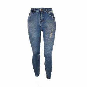 شلوار جین زنانه زاب دار کد E714، فروشگاه اینترنتی آف تپ
