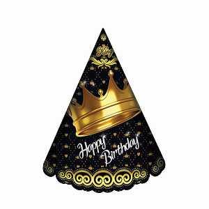 کلاه ساده اکلیلی تم تولد تاج طلایی،خرید آنلاین،فروشگاه اینترنتی آف تپ