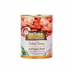 کنسرو لوبیا قارچ (meshkat) ۴۰۰ گرمی، فروشگاه اینترنتی آف تپ