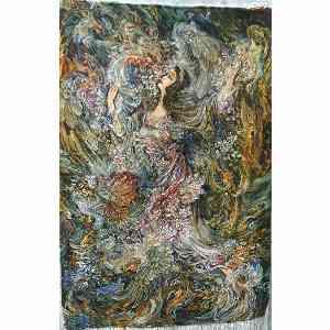 تابلو فرش دستبافت طرح بوی بهار ، خرید آنلاین ، فروشگاه اینترنتی آف تپ